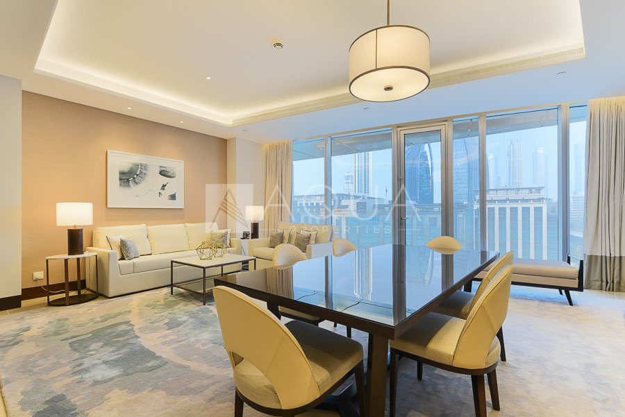 Fully Serviced Unit | Luxurious | Vacant