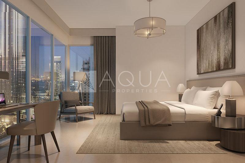 Superb Unit   Burj Khalifa View   40% Post Payment