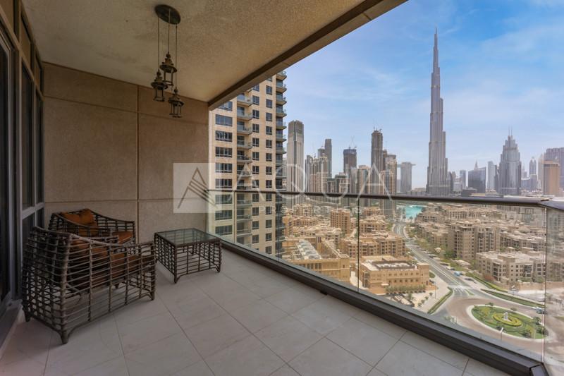 Full Burj View | Furniture Optional | Vacant