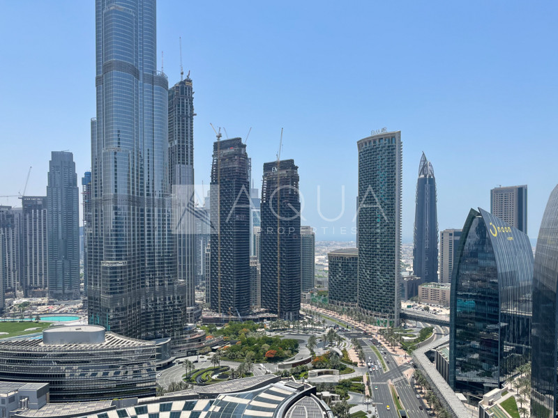 Spacious Studio | Burj Khalifa View | Vacant