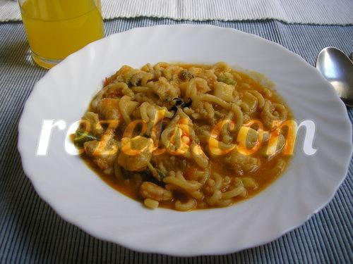 receta de fideos marineros a la cazuela por arctarus