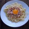 receta de espagueti carbonara por Elena