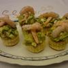 receta de volovanes de aguacate y gambas por inma