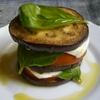 receta de torre de berenjenas, tomate y mozarella por arctarus