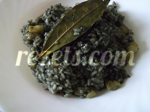 receta de arroz negro con sepia por arctarus