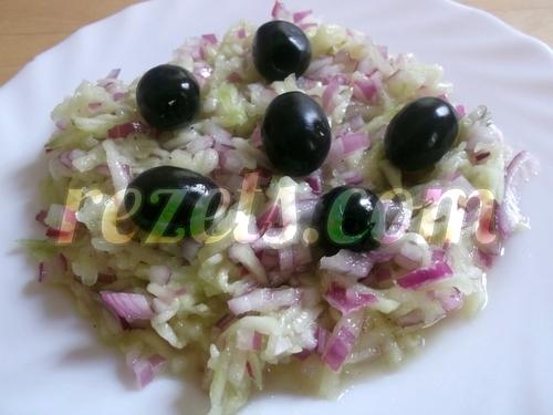 receta de ensalada de pepino y aceitunas por arctarus