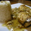 receta de pollo en salsa de champiñones por arctarus