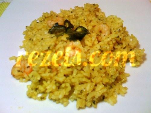 receta de arroz al curry con gambas por arctarus