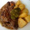 receta de carrillada de cerdo con vino tinto por atunara