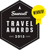 A sunset travel awards 2015 winner