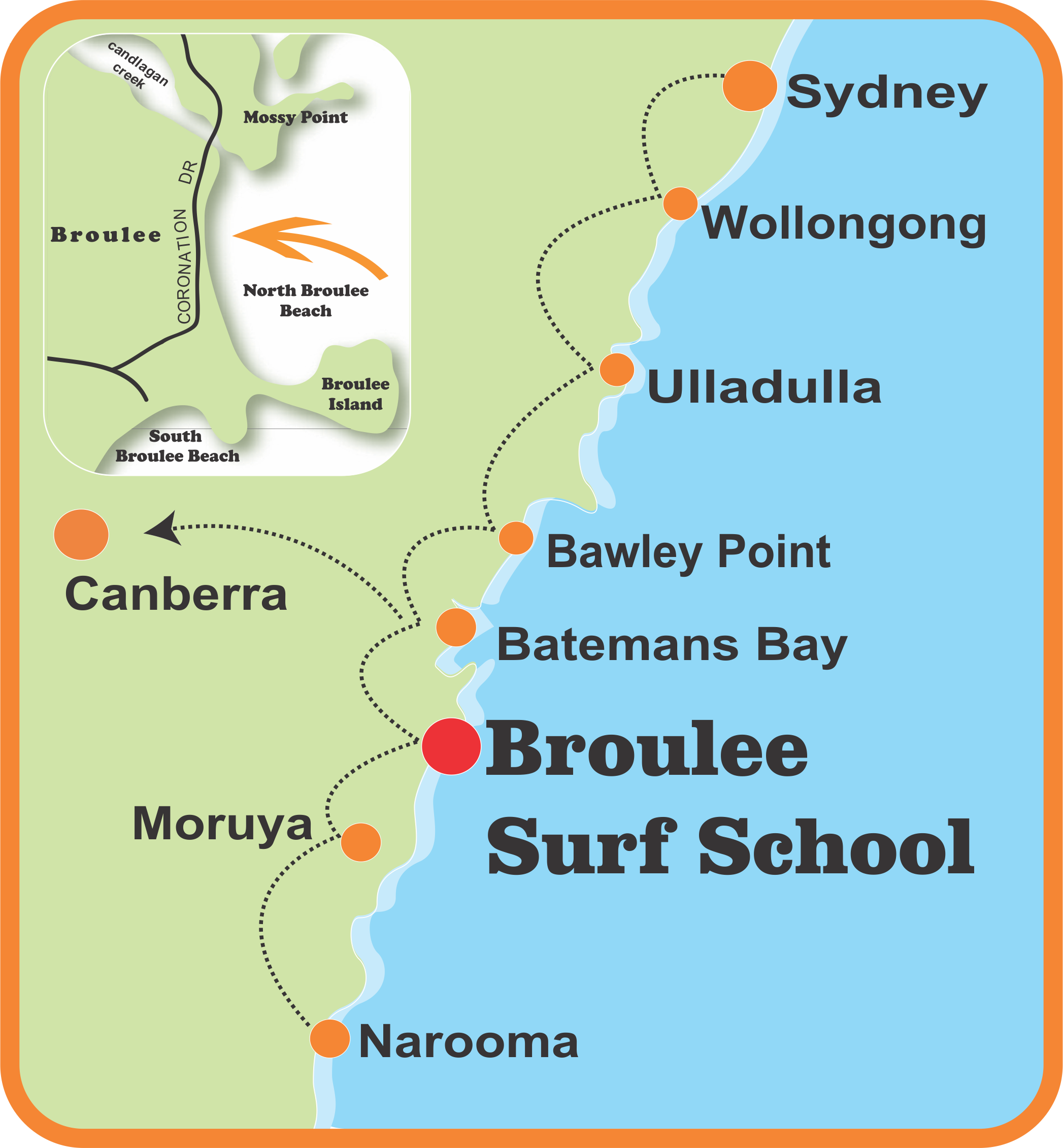 Broulee Surf School Batemans Bay