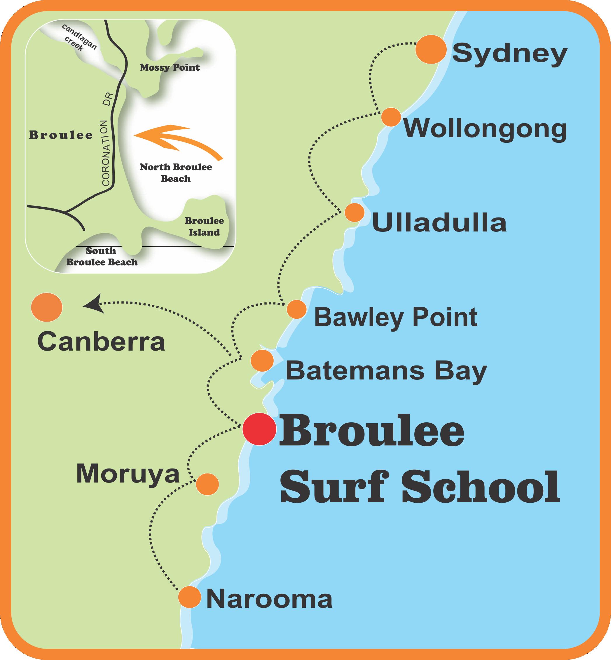 Broulee Surf School Batemans Bay
