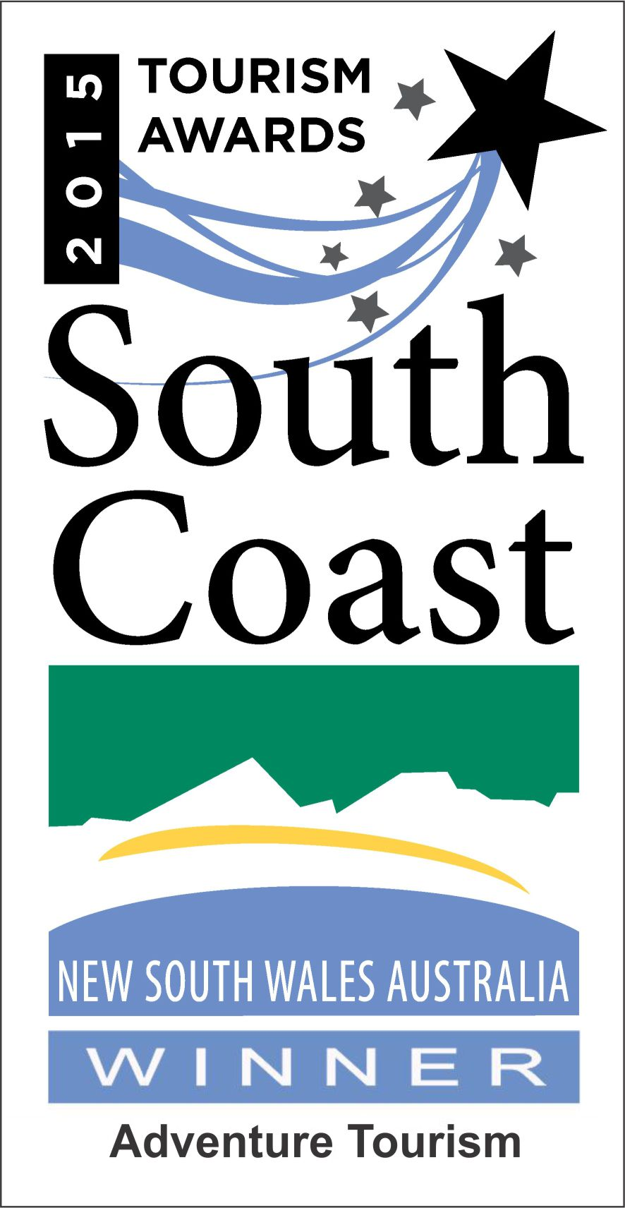 South Coast Tourism Awards Winner 2015