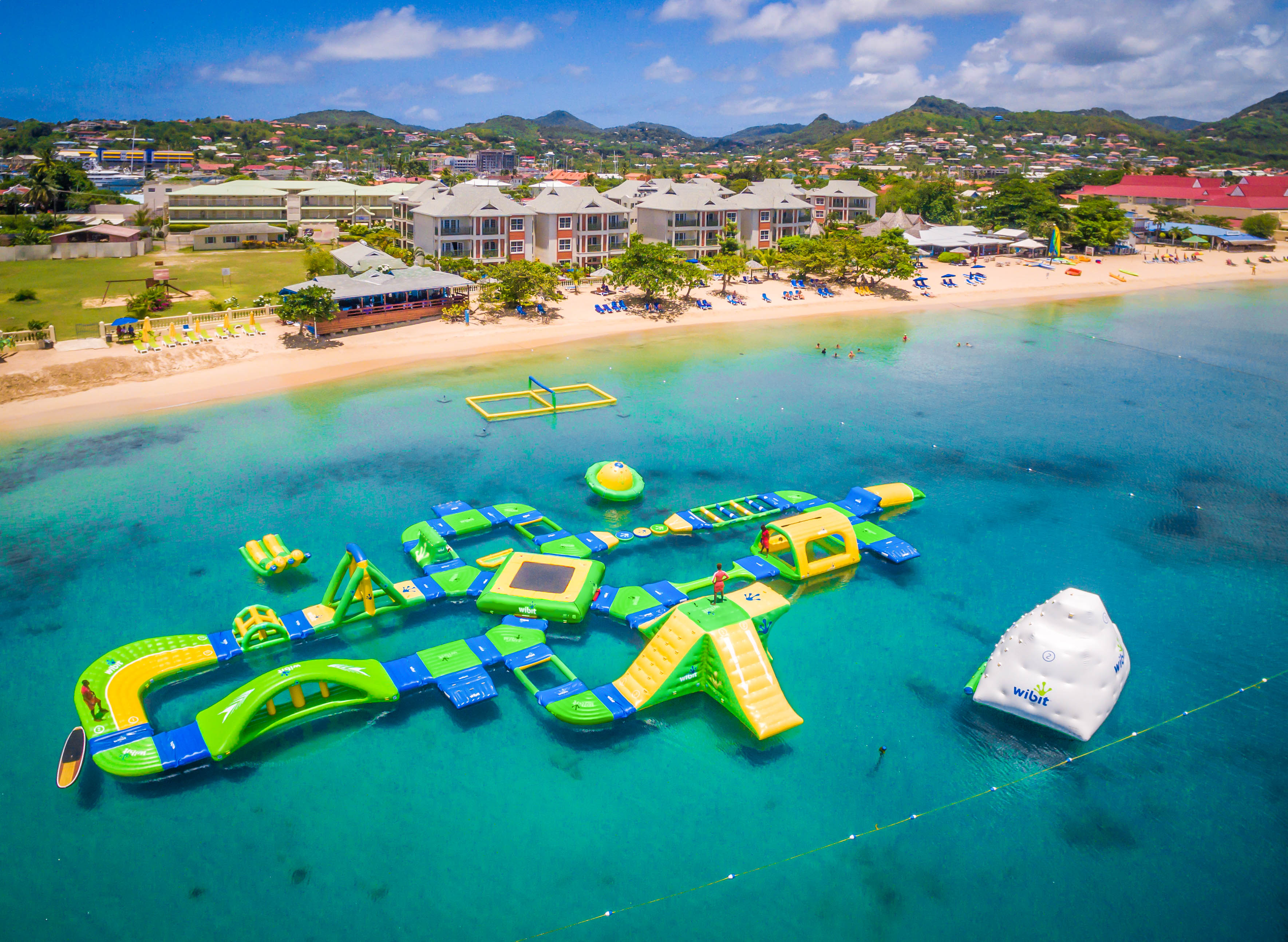 Splash Island Water Park St Lucia Home