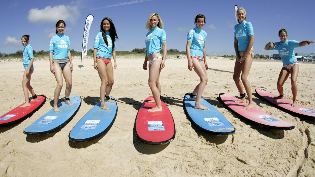 Lesson with Maroochy Surf School