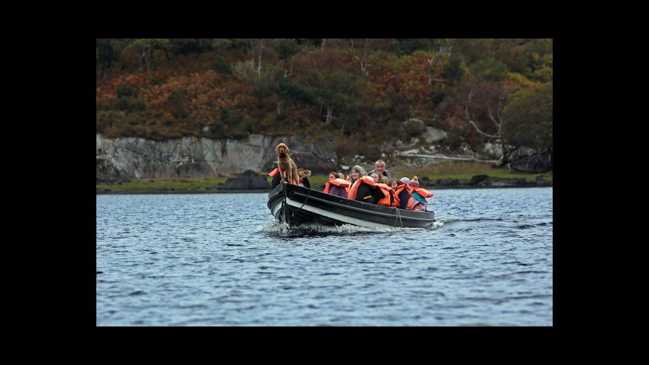 Traditional open boat trips in Killarney