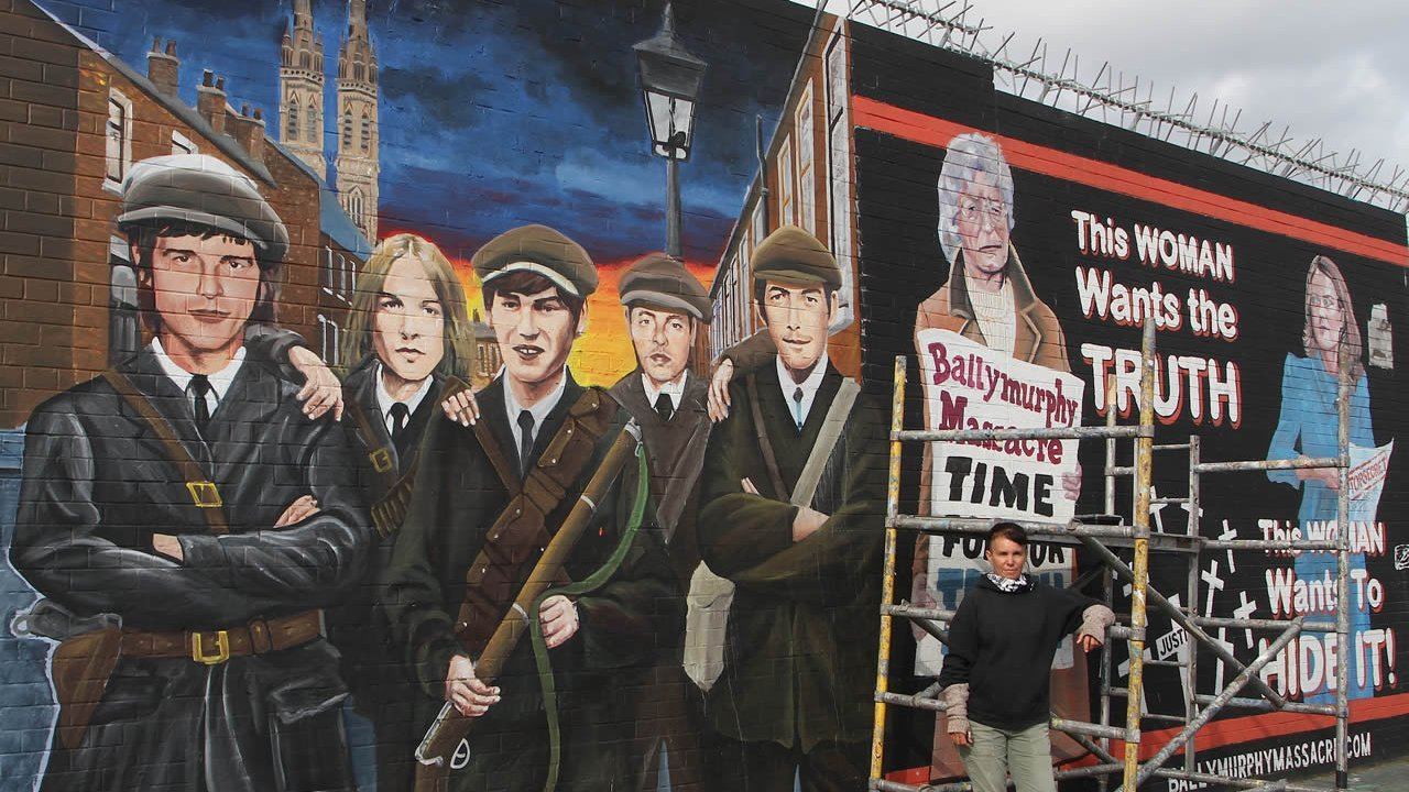 International Wall - Ballymurphy Mural