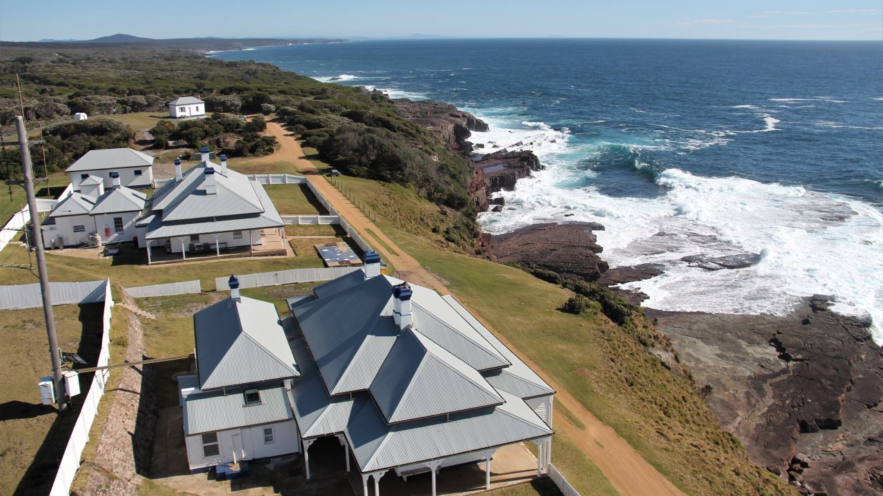 Green Cape Lighthouse cottages