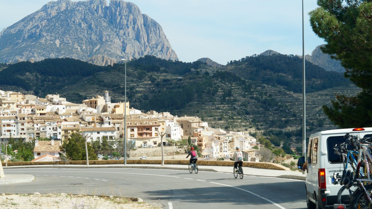 Ride into Sella!