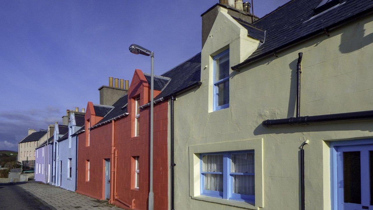 Houses, Scalloway