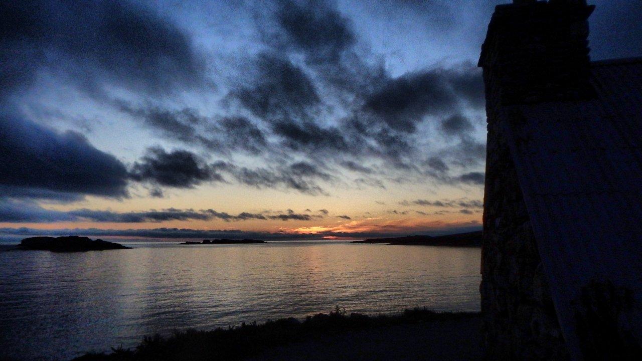 Sunset, Westing, Unst