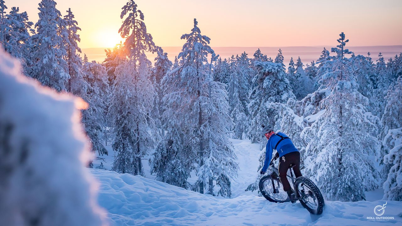There is no better way to spend your time but riding on the soft layer of fresh snow.