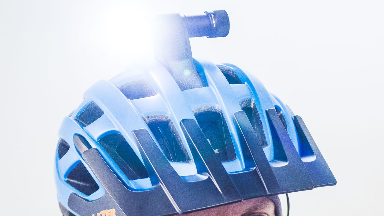 For your safety, we provide high quality mountain biking helmets.