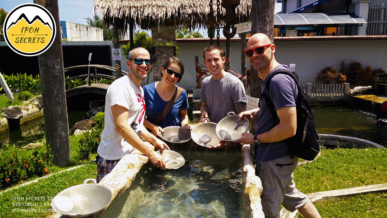 Tin Panning Experience   Ipoh Secrets Private Day Trip