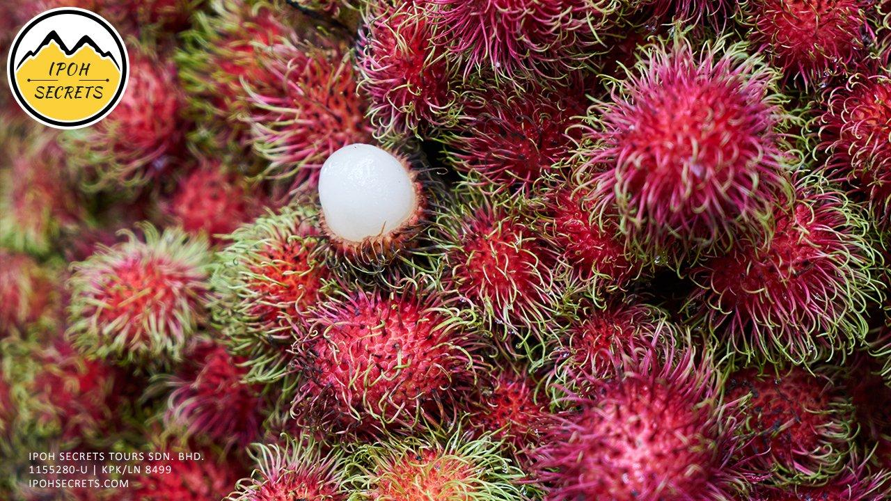 Tropical fruit Rambutan | Ipoh Secrets Private Day Trip