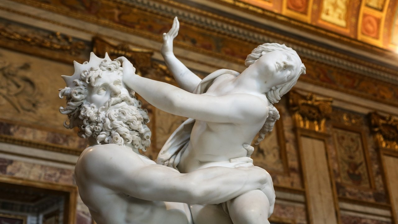 Borghese Gallery - Bernini's Rape of Proserpine