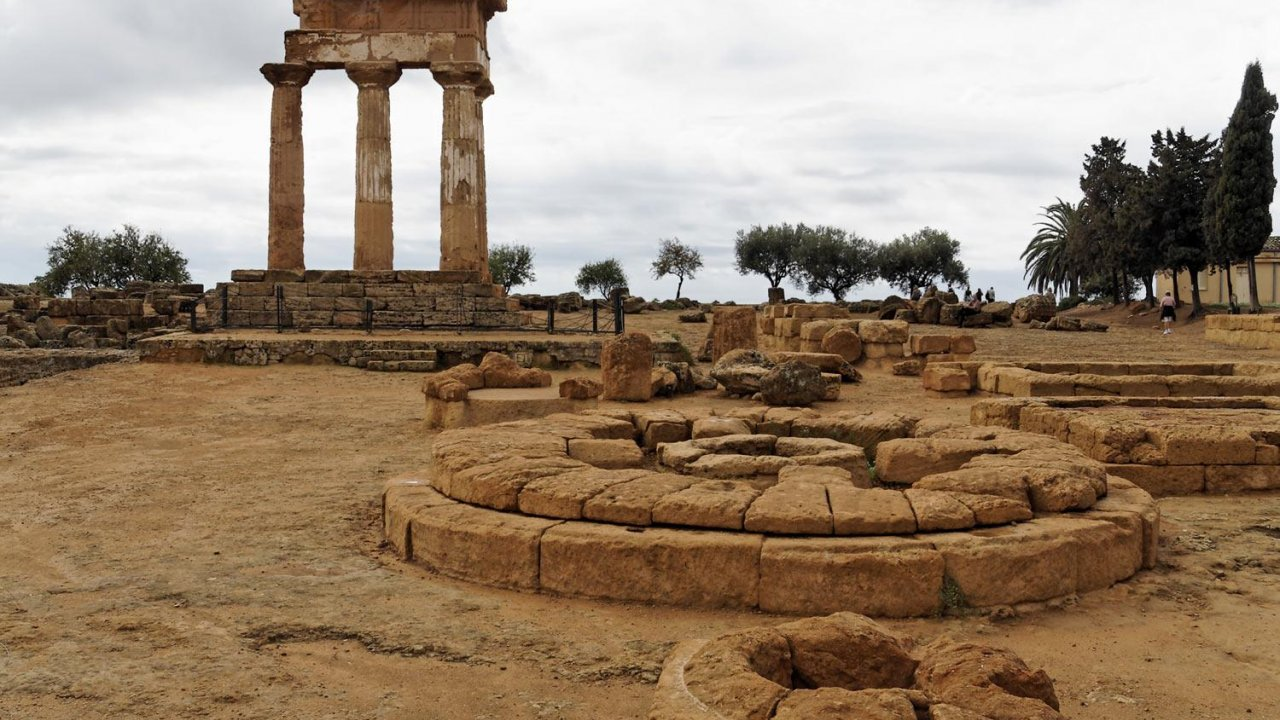 Castor and Pollux Temple, Agrigento