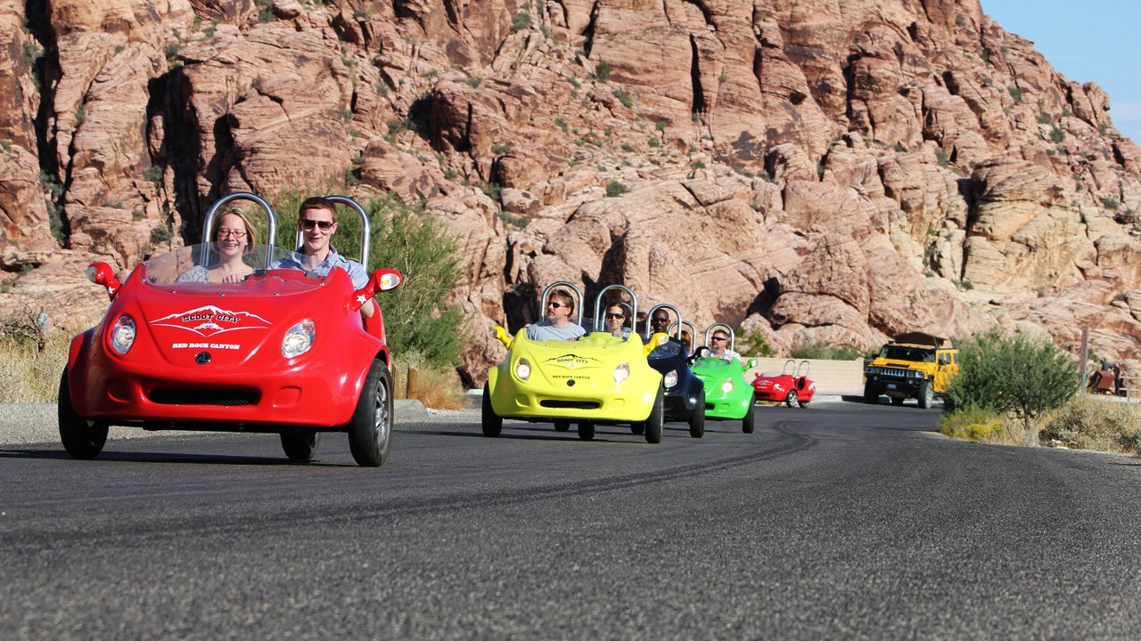 Red Rock Canyon Scootercar Tour In Las