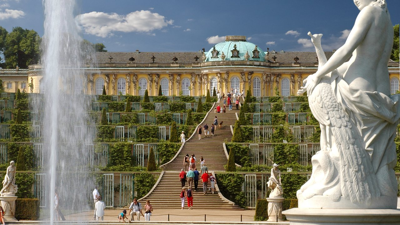 Image result for Sanssouci Palace