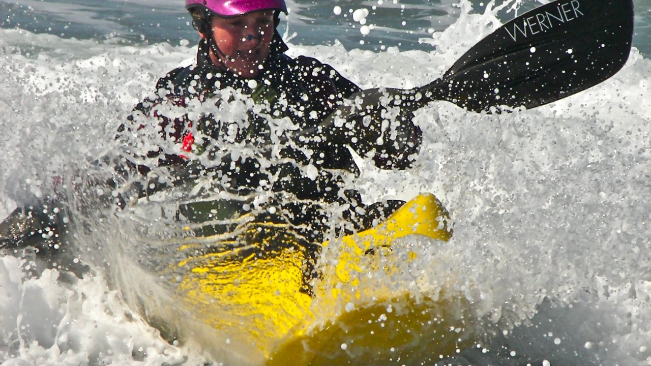 Dating a whitewater kayaker