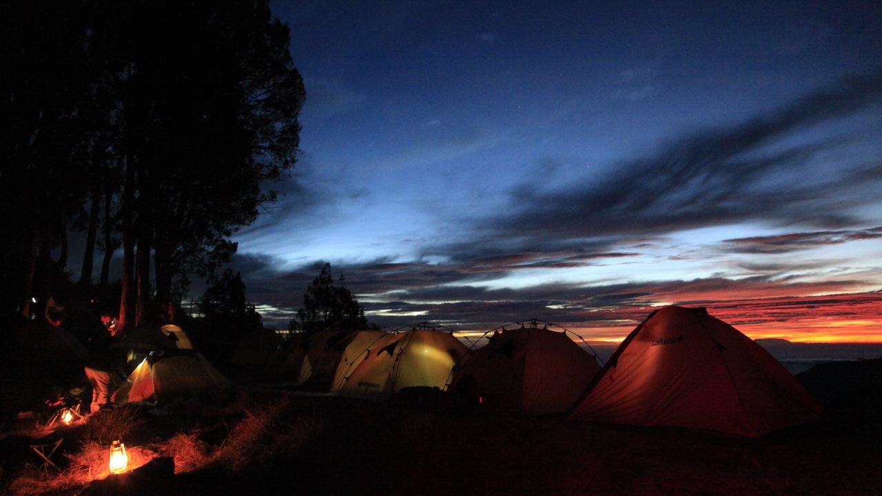 Pelawangan Camping Site