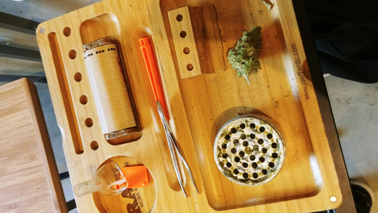 Roll it up, light it and smoke it! Or have some edibles