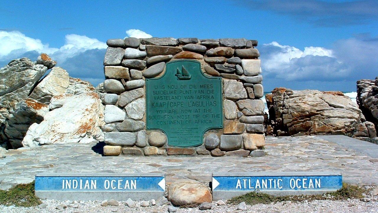 Cape Agulhas point