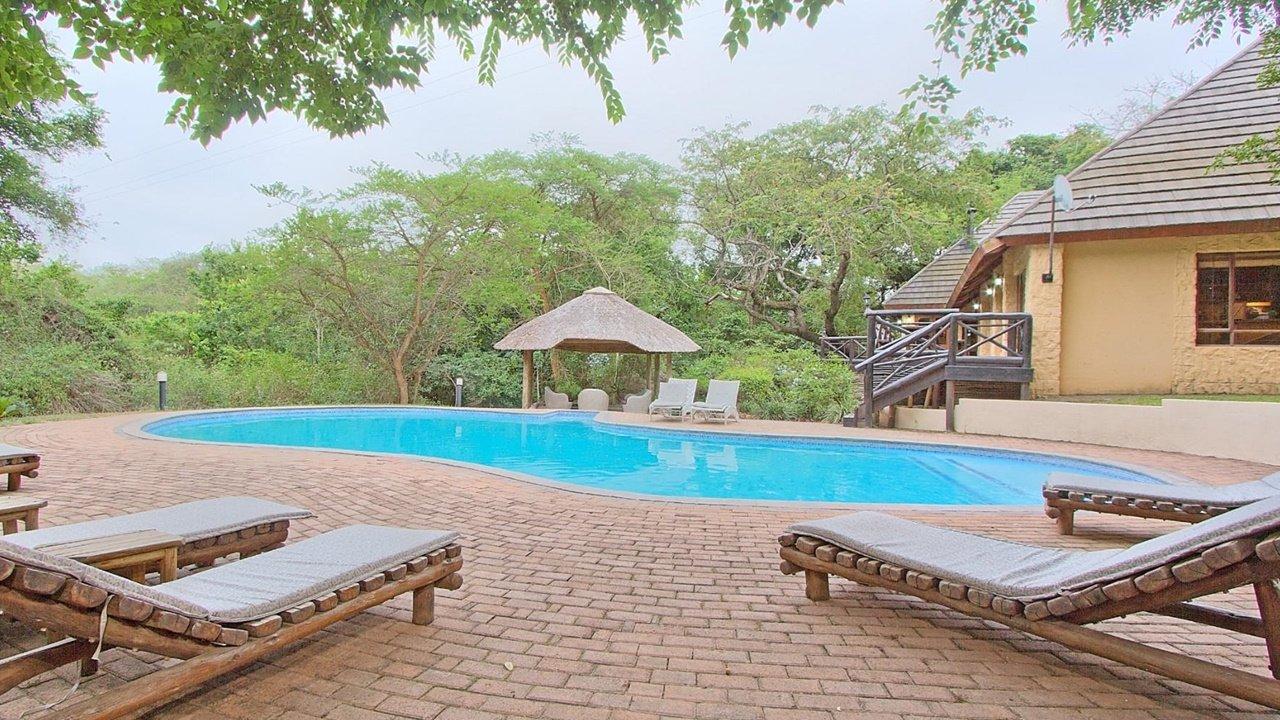Pool Deck at Lodge