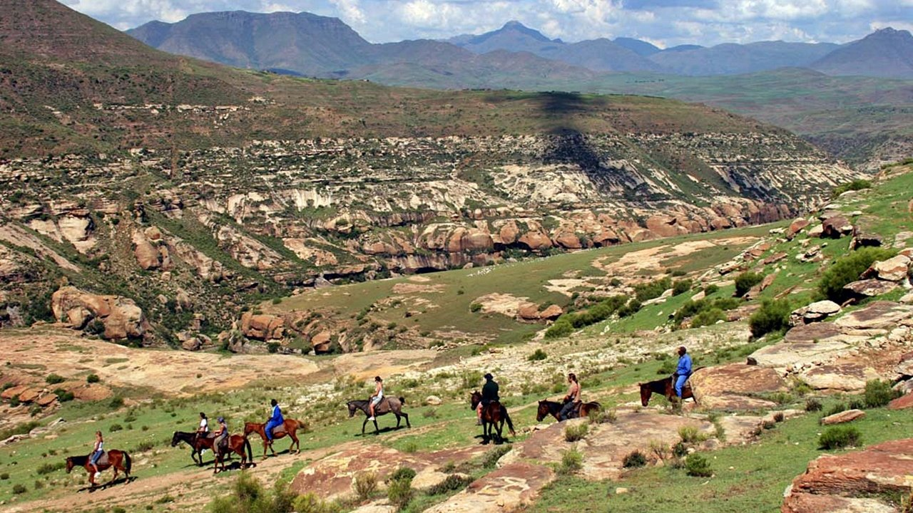 Lesotho - Pony Trekking