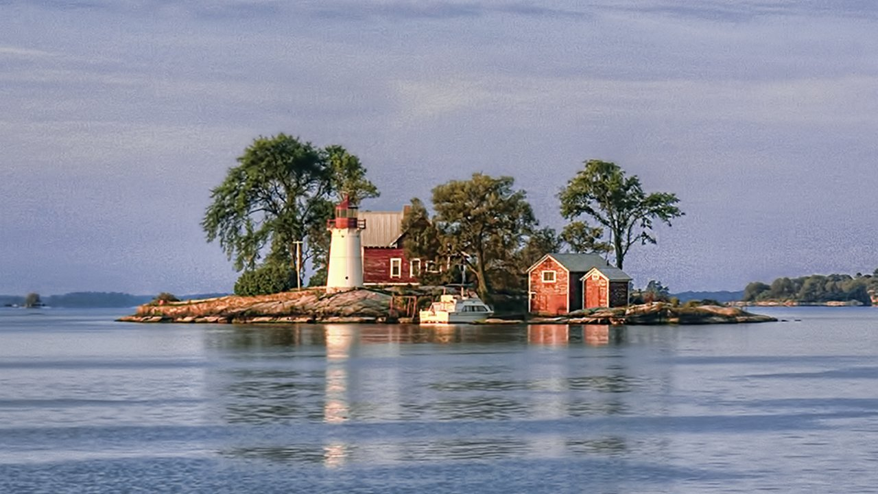 Crossover Island Lighthouse