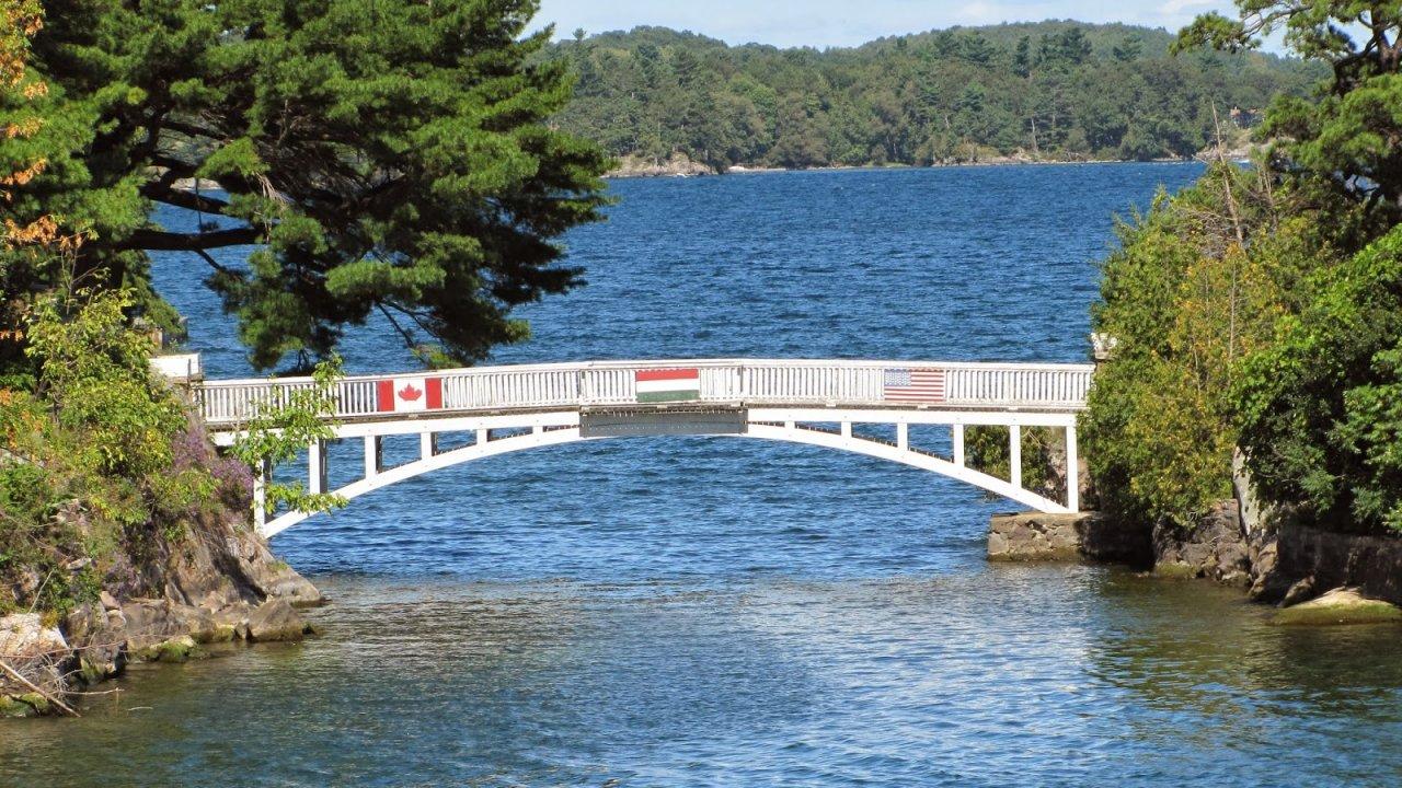 Shortest International Bridge