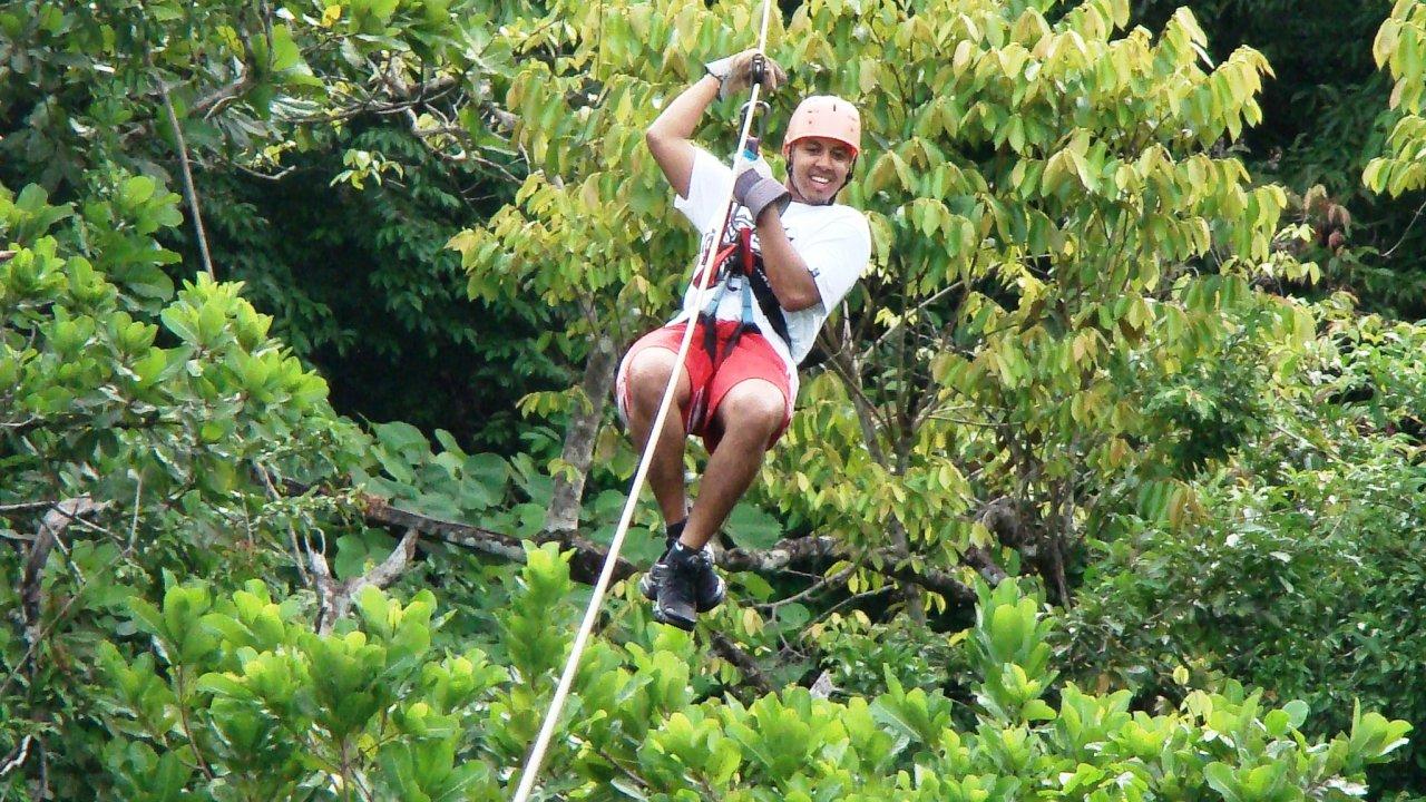 Waterfall Canopy Tour Costa Rica
