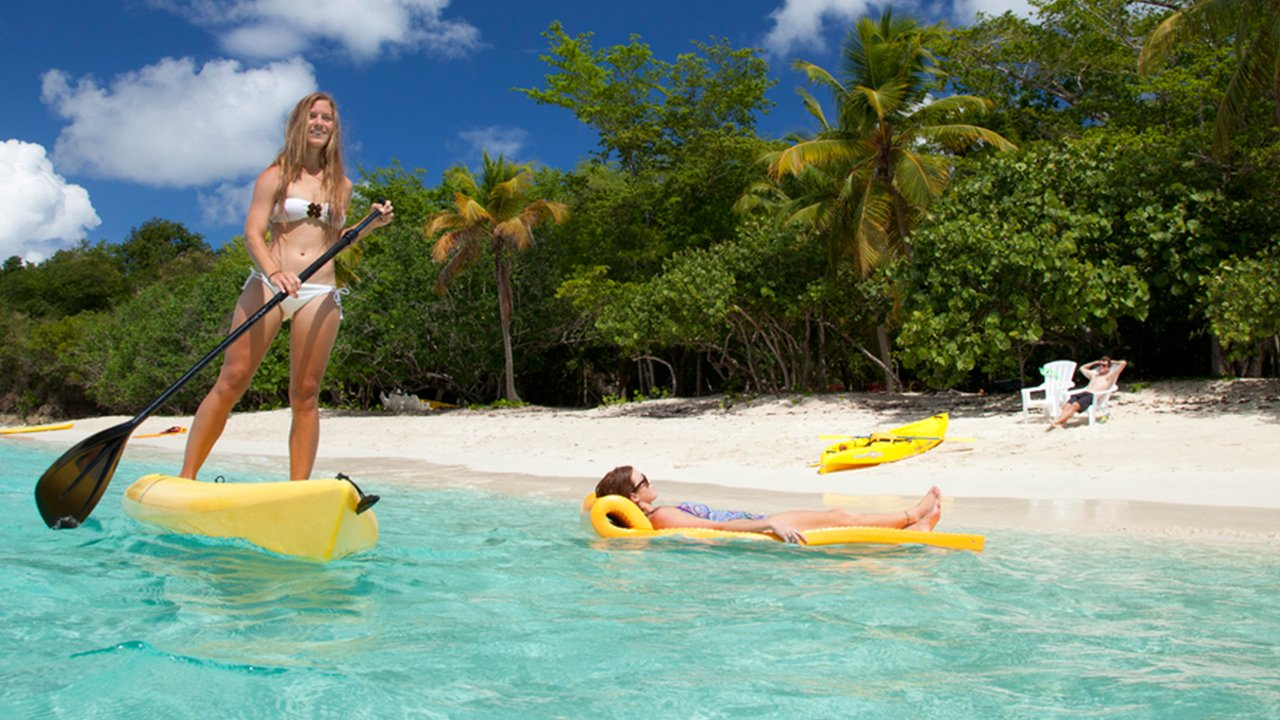 Honeymoon beach discounted all day watersports package for Honeymoon in st thomas