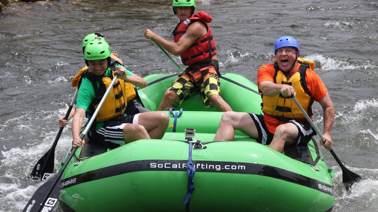 Socal Rafting BOOK NOW - Los angeles river kayak map