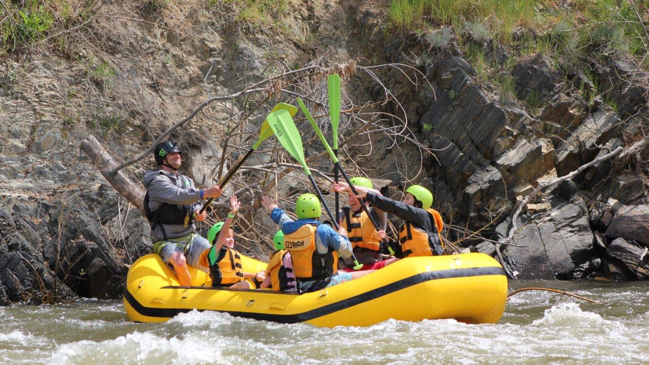 SoCal Rafting | Bakersfield Boogie<sup>®</sup> Half-Day Kern River