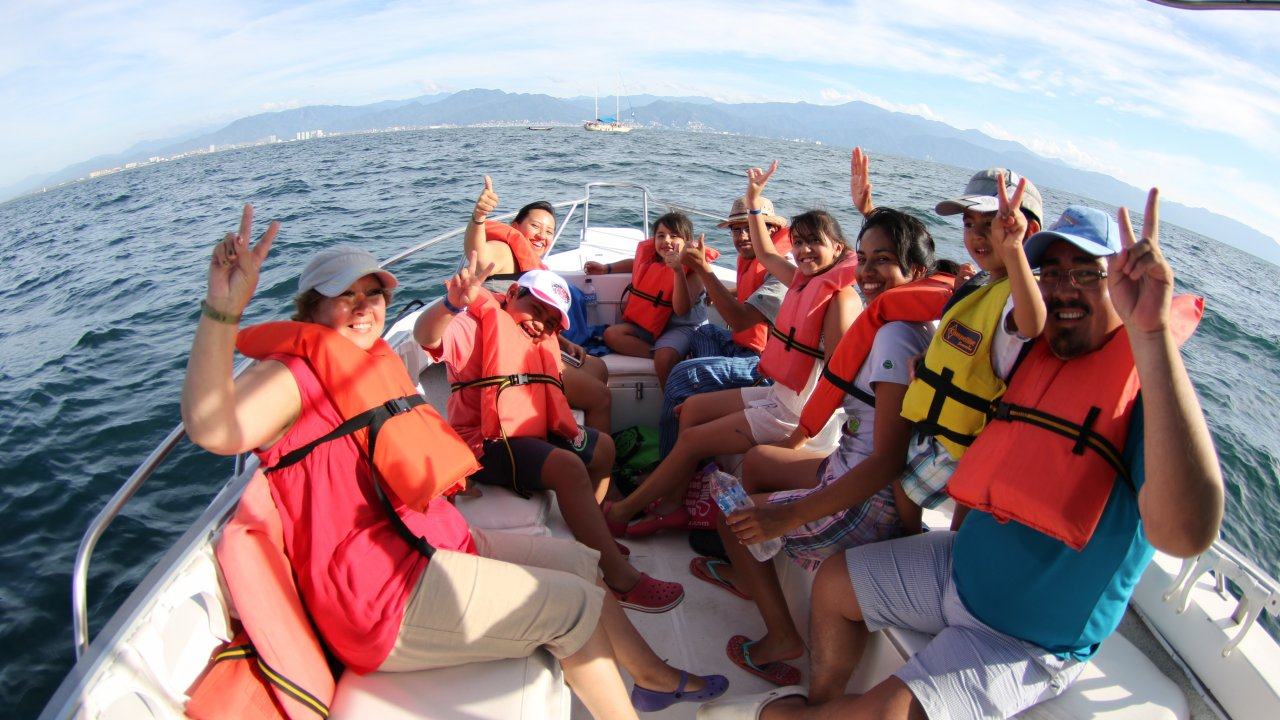 Whale watching Vallarta at Eco Explorer