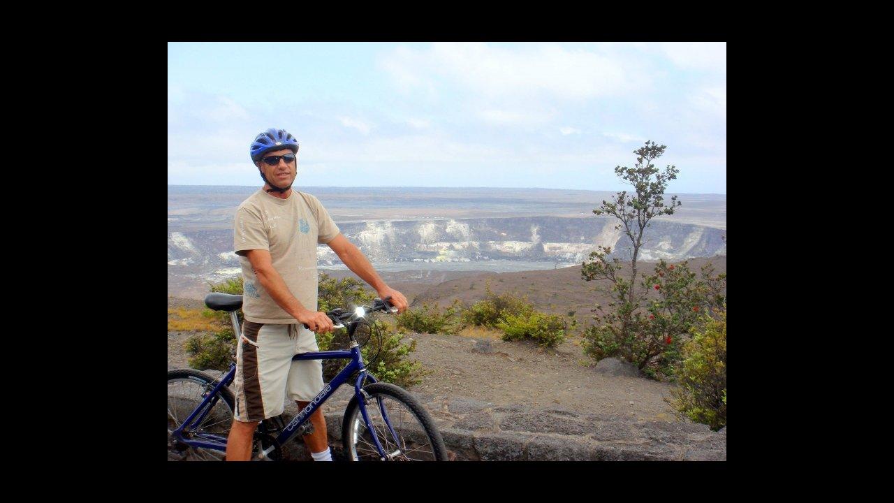 Bike Kilauea Volcano