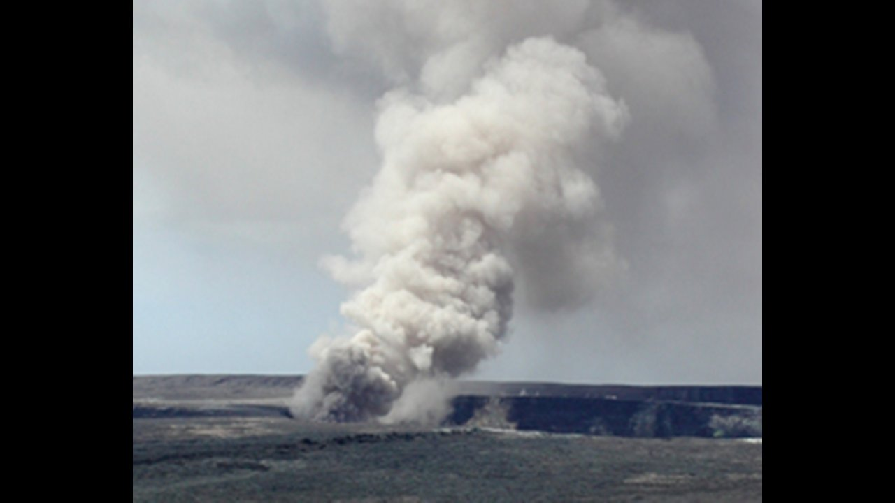 The Summit Crater Eruption