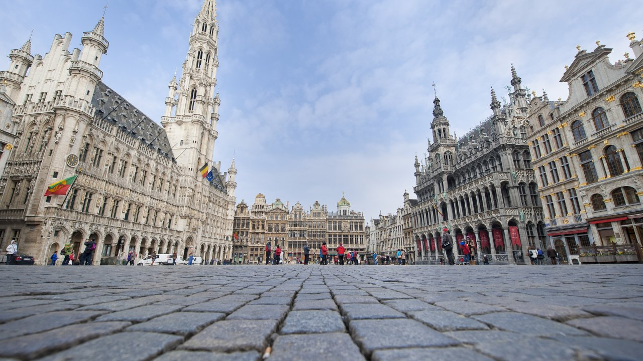 Brussels and Antwerp