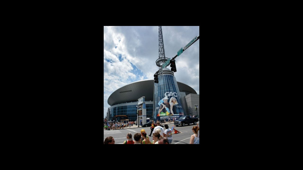 Bridgestone Arena in downtown Nashville is the site of the 51st Annual CMA  Awards Show